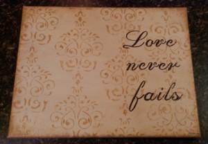 Becky Schorr - Love Never Fails