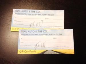 Trail Auto GCs